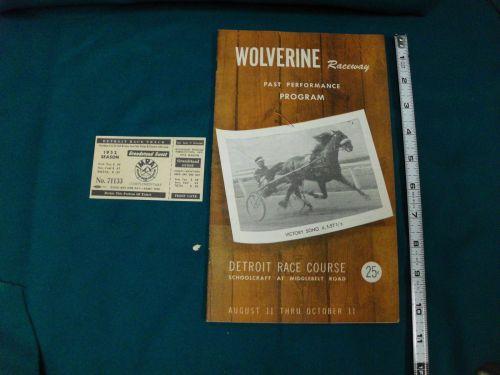 1952 Wolverine_DRC Program
