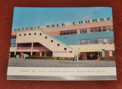 Detroit Race Course 1960s
