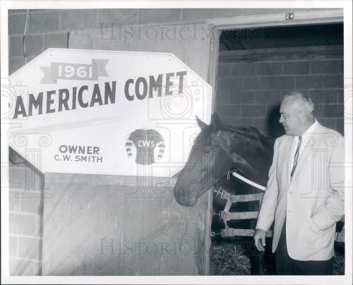 Detroit Race Course 1961 C.W. Smith