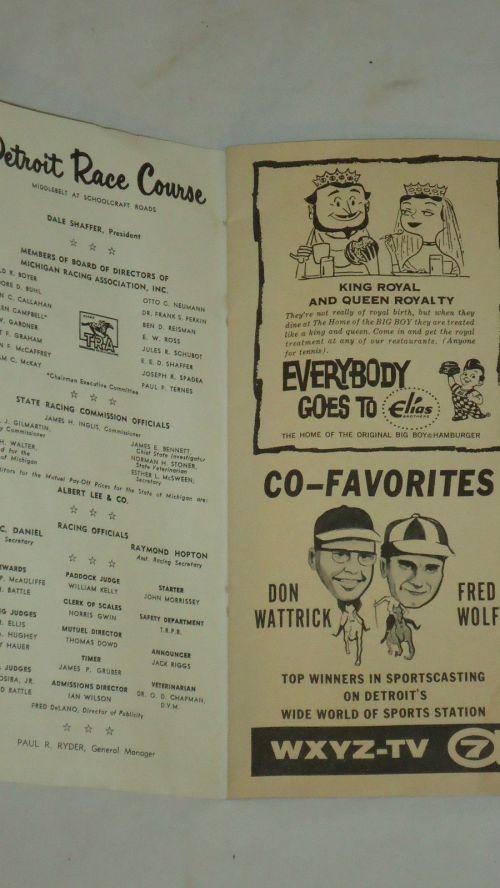 Detroit Race Course 1961 Program._2