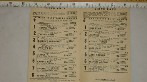 Detroit Race Course 1961 Program._3