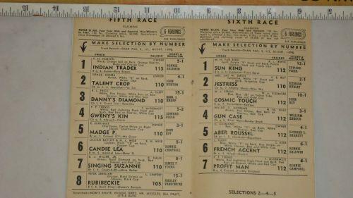Detroit Race Course 1961 Program._3