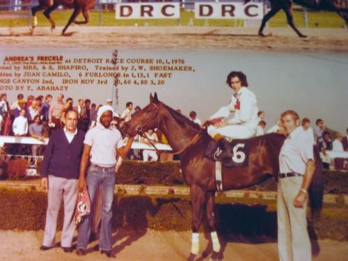 Detroit Race Course 1976