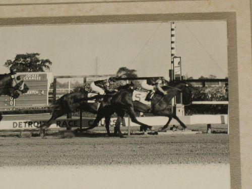 Detroit Race Course Finish 1961