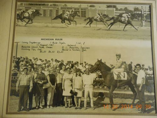 DRC 1961 Michigan Ruler