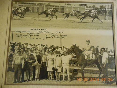 DRC 1961 Michigan Ruler
