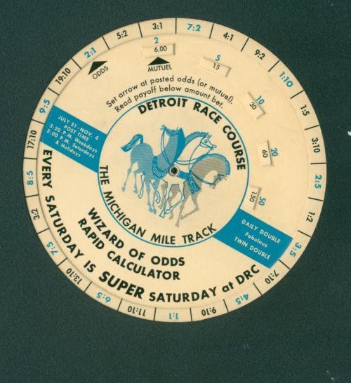 DRC 1967 Wizard Of Odds