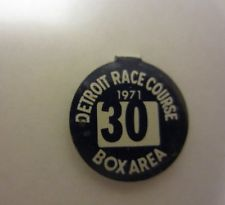 DRC Box Seat Pin 1971