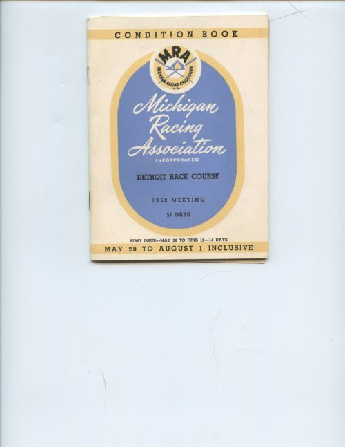 DRC Condition Book 1953