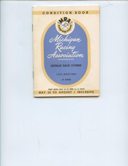 DRC Condition Book 1953
