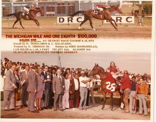 Michigan Mile DRC 1973