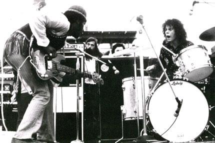 Woodstock Santana Drummer