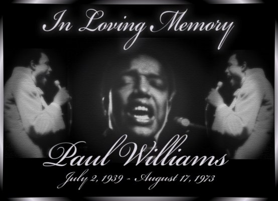 PAUL WILLIAMS In-Memory