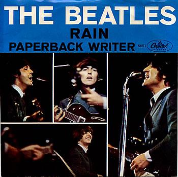 Rain single beatles