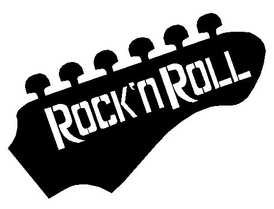 Rock And Roll Fonts - klejonka