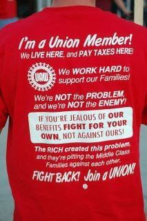 UNIONS FIGHT FOR WORKERS RIGHTS