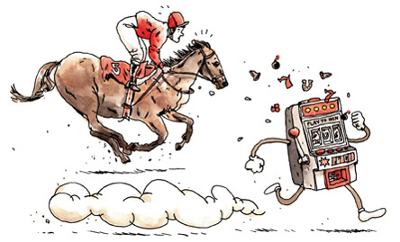 Casinos are put ahead of Horse Racing