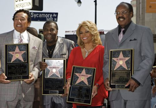 The Miracles _Walk Of Fame
