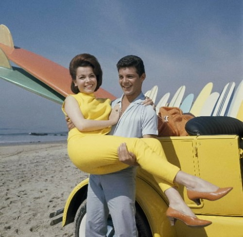 Annette Funicello & Frankie Avalon