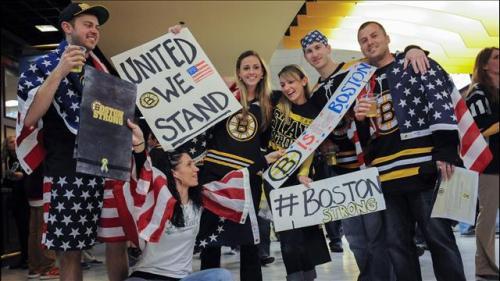 Boston Bruin Fans 4-17-13