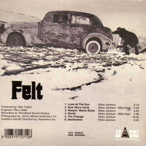 Felt Band 1971 album_back
