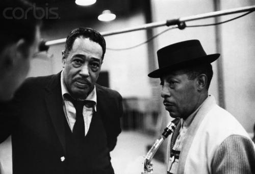Duke Ellington and Johnny Hodges