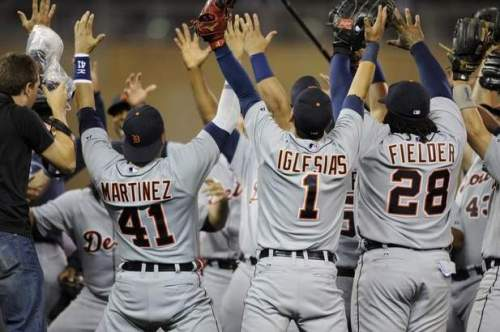ALC Champs Detroit Tigers 2013 Thrid Straight Year