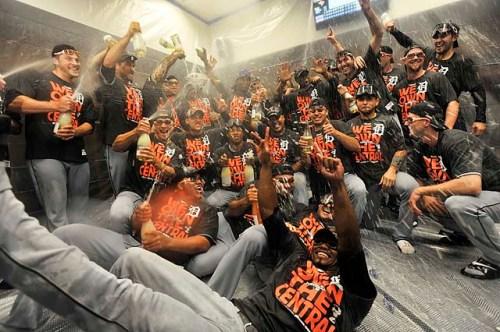 Detroit Tigers ALC 2013 Champs