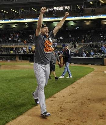 Max Scherzer 'Blackjack' TIGER ALC CHAMPS 2013