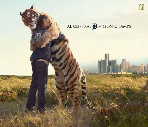 2013 AL Division Champs Detroit Tigers