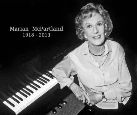 Marian McPartland.In Memory