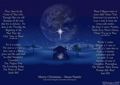 Merry Christmas-Buon Natale