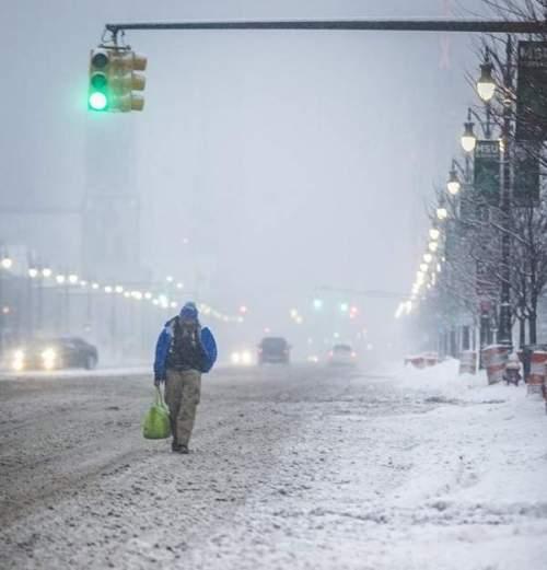 Detroit Snow Storm 2014