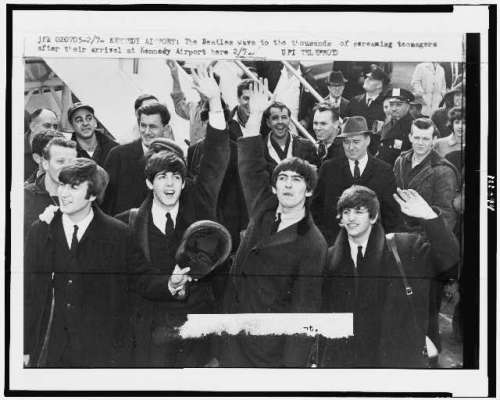 The Beatles Kennedy Airport February 1964
