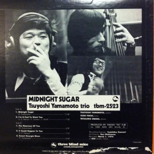 Tsuyoshi Yamamoto Trio _ Midnight Sugar