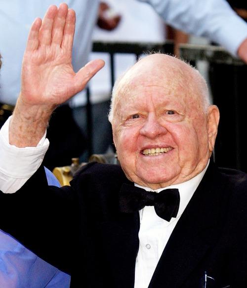 Mickey Rooney _ Says Goodbye