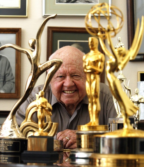Mickey Rooney's awards