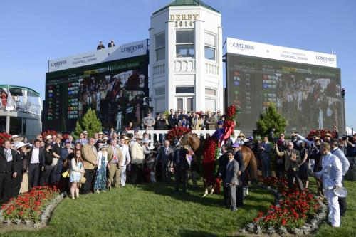 140th KY Derby Winner Circle