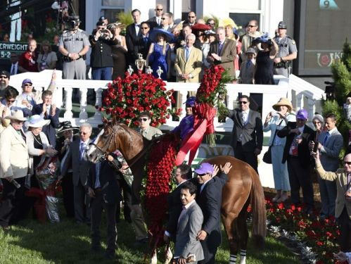 2014 KY Derby_Winners Circle