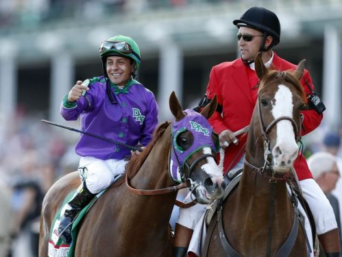 Espinoza_California Chrome Derby Winner