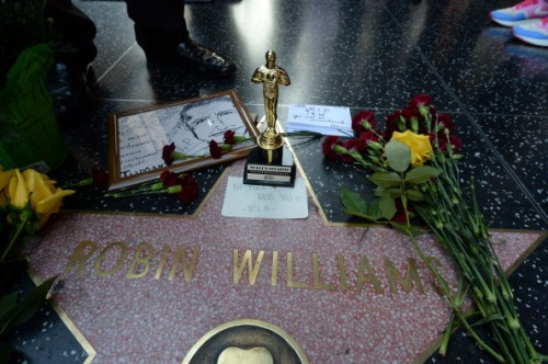 US-OBIT-ROBIN WILLIAMS-STAR HOLLYWOOD WALK OF FAME