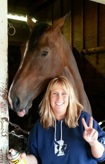 Michelle Bearden with Unbridled Isabel