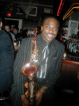 Jazz Saxophonist James Carter
