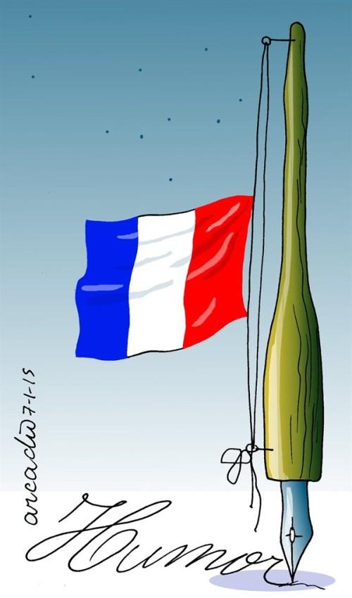 Arcado Esquival In Memory of Charlie Hebdo