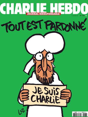 Charlie Hebdo Cover Jan. 14, 2015