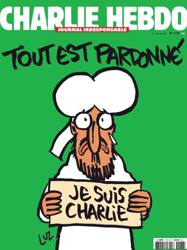 Charlie Hebdo Cover Jan. 14, 2015