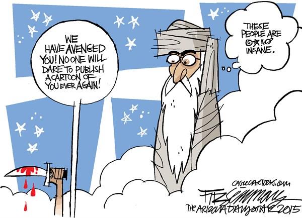 David Fitzsimmons_In Memory of Charlie Hebdo