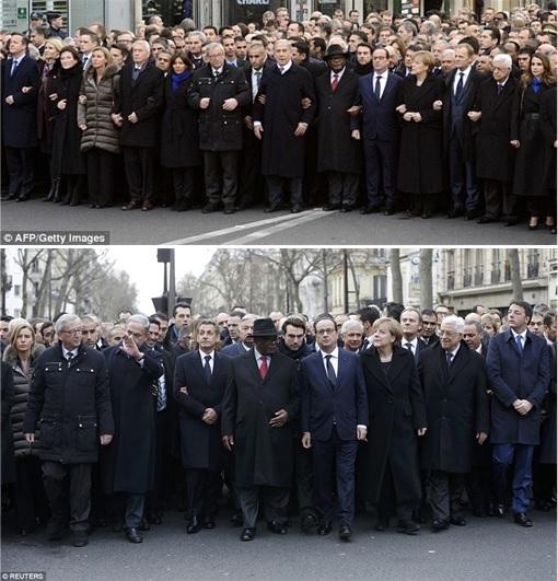 France Massive Rally World Leaders