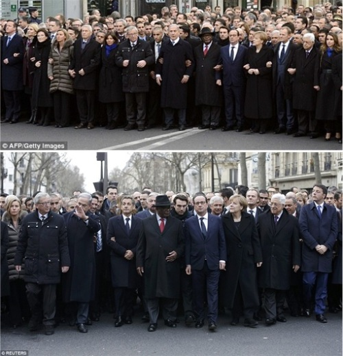 France Massive Rally World Leaders