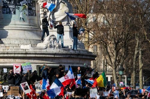 Mass Unity Rally Held In Paris Following Recent Terrorist Attacks